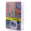 Riipoo Colorful butterfly Books modeling safe Diversion Hidden Book Safe Strong Metal Case With Lock and Two Keys