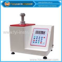 DIN 53325 Clamping Bursting Strength Testing Machine