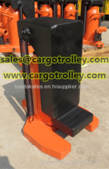 Hydraulic toe jack is perfect for lifting up equipments