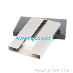 Riipoo Metal Business Card Holder The Unique Design Highlighting successful style your best choose
