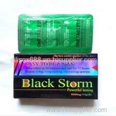 wholesale black storm sex medicine products with good price accept paypal