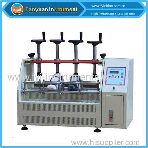 Finished Shoes Heel Bending Testing Machine