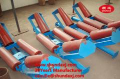 steel roller / plastic conveyor roller / nylon roller for belt conveyor rollers