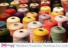 Colorful TFO 40/2 Plastic Core Dyed Polyester Yarn / Thread For Sewing Machine