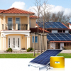 4kw on grid solar panel generator systems