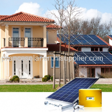 On grid solar panel system with all equipment