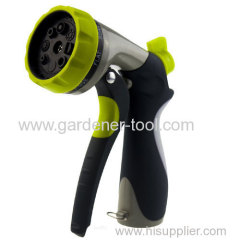 Metal 8-Pattern Water Hand Sprayer