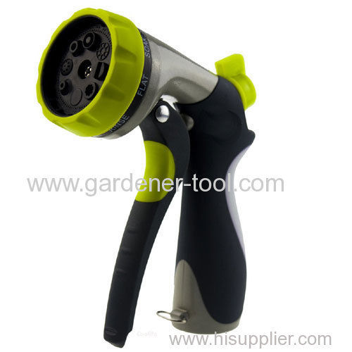 Metal Front Trigger Multi-pattern Nozzle