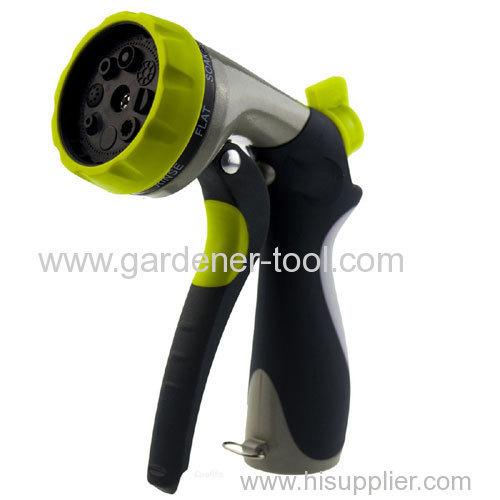Metal 8-Pattern Water Hand Sprayer
