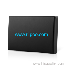 Riipoo Solid Black Metal Business Card Holder Wtih High Quality Luxury High-profile Business People Necessary