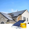 5kw on grid solar home lighting system