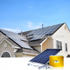 on grid normal specification and home application solar