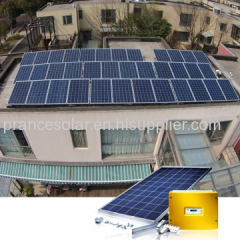 on-grid solar electricity generating system