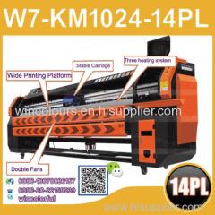 New product on China market! konica 1024 42pl digital flex banner