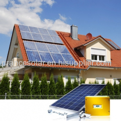 on grid solar house generation power system