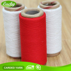 red yarn for knitting