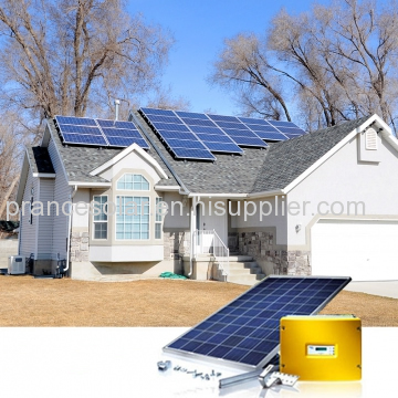 home application and mini specification on-grid solar home system