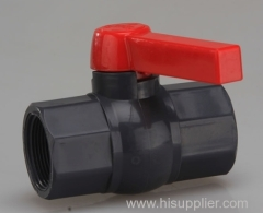 pvc octagonal female threaded ball valves