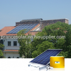 On Grid Solar Panel Power Generation System