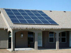 on grid normal specification and commercial application solar panel system