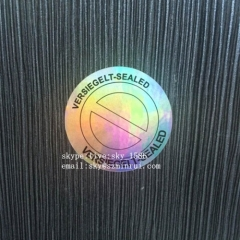 Custom Hologram Adhesive Sticker