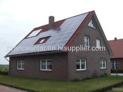 customized on-gid household solar power system