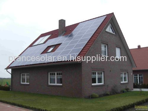 on grid residential solar panel power system for home