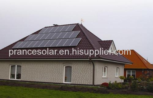 On-Grid solar panel power generation system