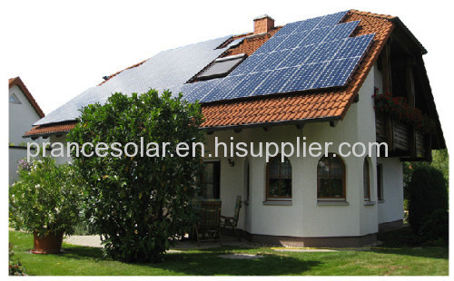 Household off-grid solar power generation system