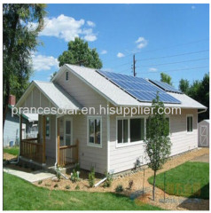 Whole house off grid home solar power system