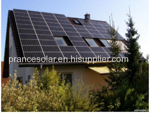 Household off-grid solar power system 4kw