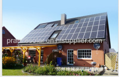 Household off-grid solar power system 5kw