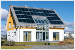 Household off-grid solar power system