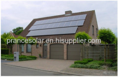 off gird residential solar power application system