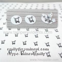 Custom 5mm Round Calibration Warranty Screw Seal Sticker