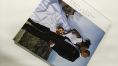 Sponge-wrapped cover hardback wedding photo book printing and binding services