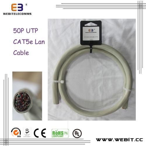 50P CAT5e UTP lan cable