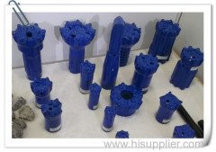 Rock Drill Bits for Atlas Copco Rock Drill With Hard Rock Button Bit