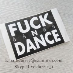 Destructible vinyl label and graffiti adhesive eggshell sticker.low price destructible stickers eggshells