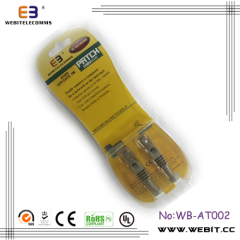Cable CAT6 UTP Patch chaqueta de PVC con packaing Blister