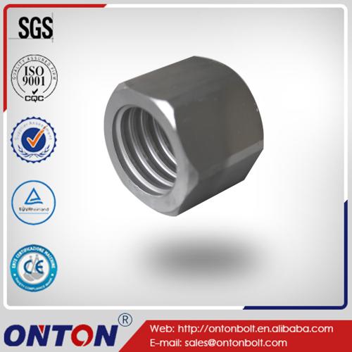 Precision Steel Thread Hexagonal Muttern Nuts