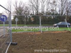 Heavy duty verzinkt Haras Site Fencing ronde bovenkant Veiligheid Omheining