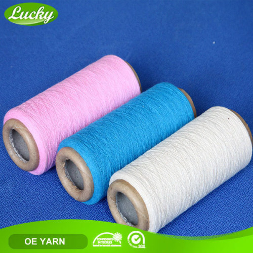 recycled cotton colorful blended yarn for making hammock