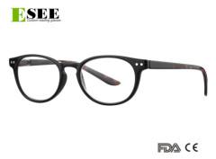 Custom Unisex retro style Demi reading glasses