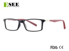 Unisex Custom quality plastic frame tinted reading glasses