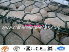 hexagonal gabion basket;gabion mesh box
