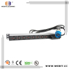 industrial type 1U or 1.5U IEC PDU socket