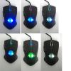 Backlit 6D gamer mouse
