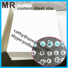 custom any size sheet eggshell paper from Shenzhen Minrui