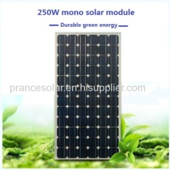 Low Price Solar Panel 250w with TUV IE RoHS certified